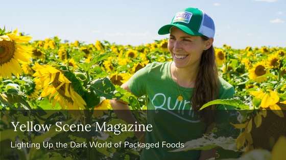 Quinn Snacks sustainable packaged food