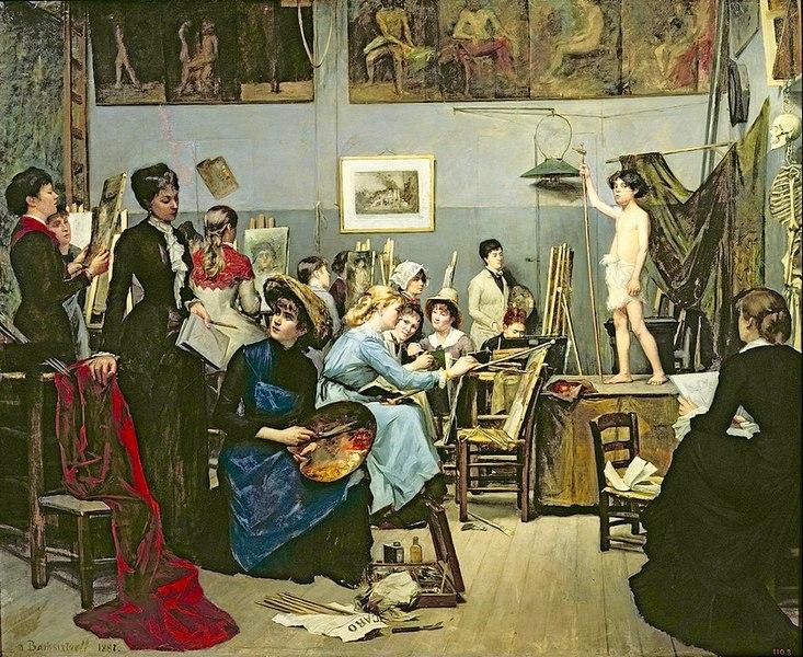 women impressionist era
