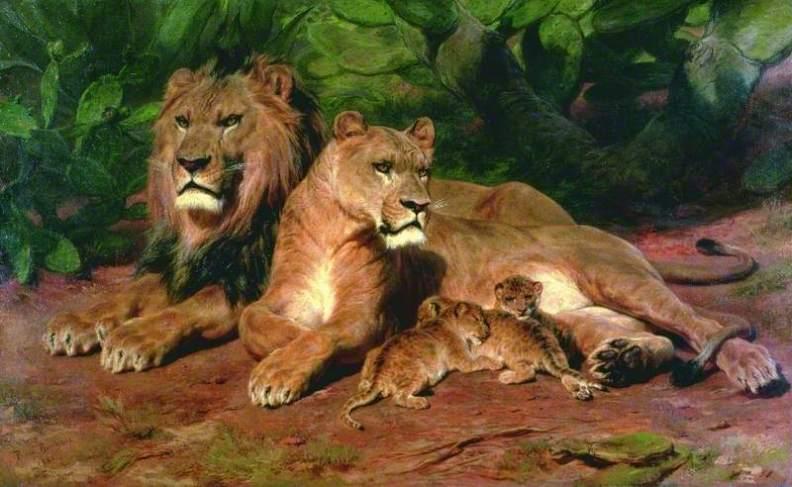 Rosa Bonheur animal painting